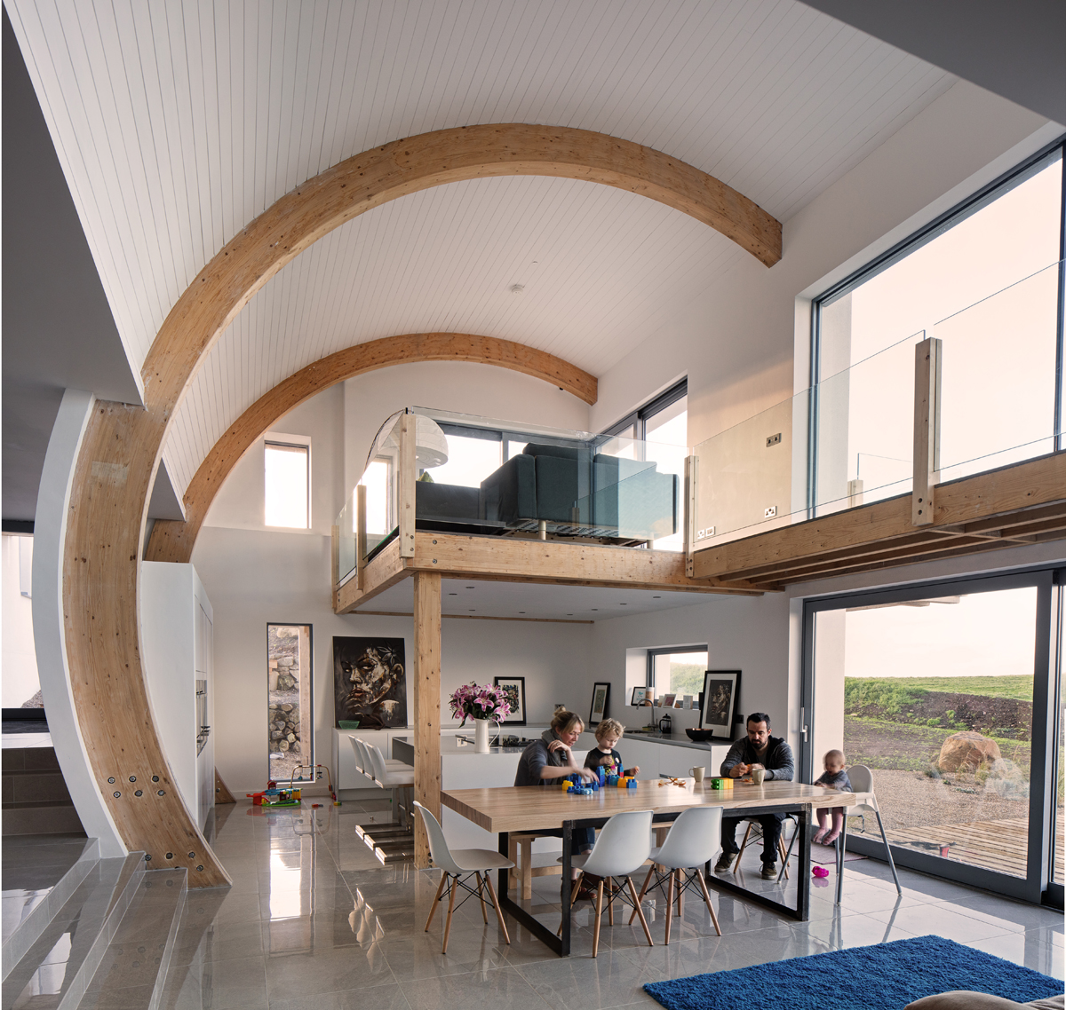 2020 architect 39 s 39 grand designs 39 project ballymagarry house for Grand designs interior