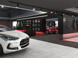 New DS Showroom