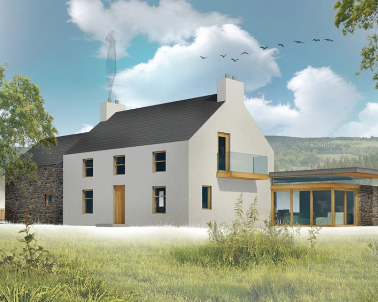 New Farm House Plans The Farmhouse