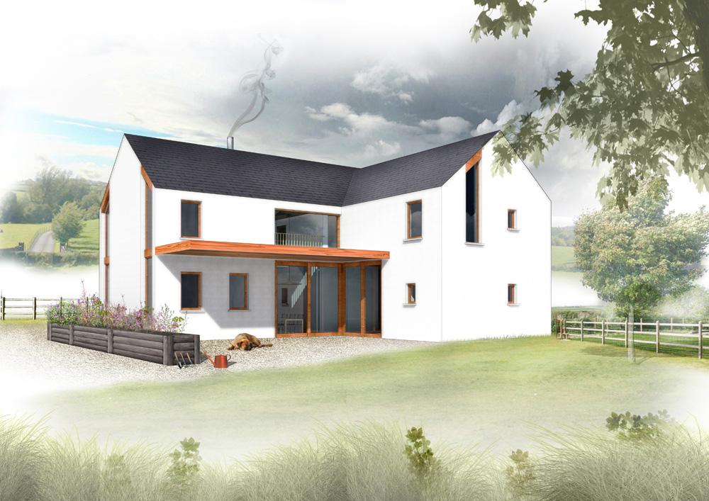 Self build cottage plans river cottage for River cottage plans
