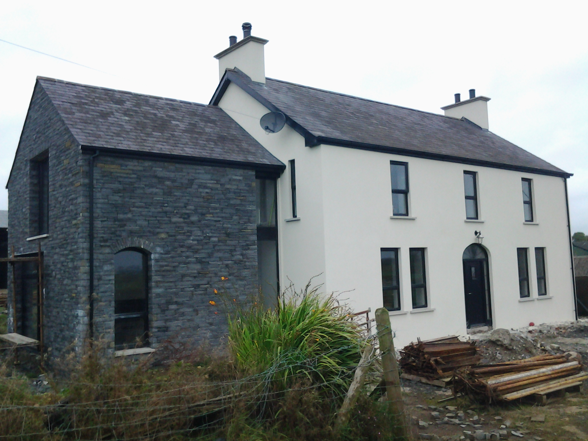 Update on the garvagh extension renovation 2020 architects for Irish farmhouse plans