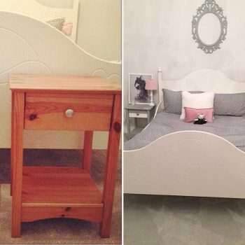 Bed & Side Cabinets Upcycle by Amber Shiels