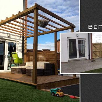 Decking and Pergola by Cory Doherty