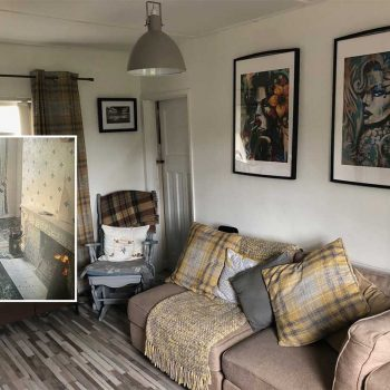 Living Room Makeover by Barry Craig