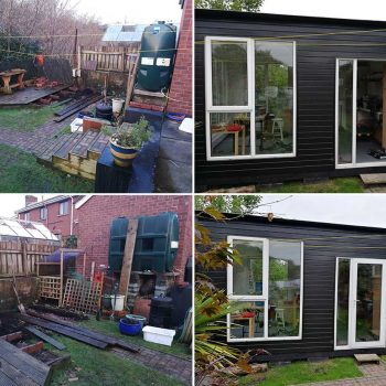 Garden Studio/Workshop by Keith Scott