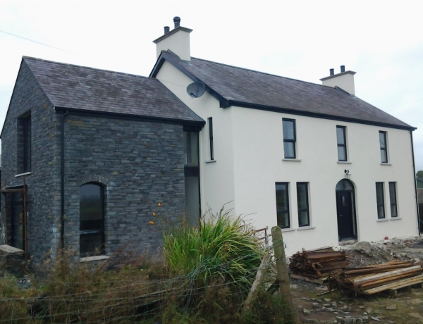 Update on the Garvagh extension & renovation