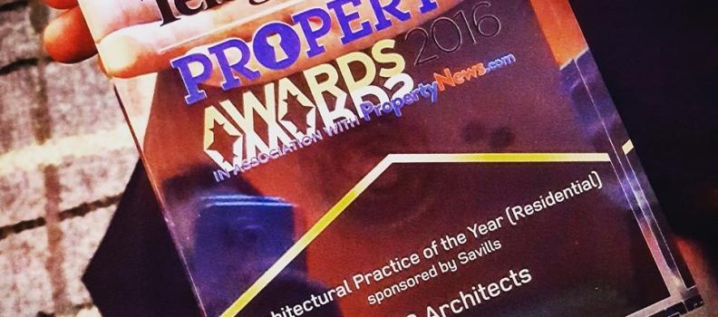2020 Architects win Belfast Telegraph award