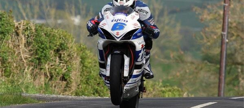 William Dunlop clinches 1st win on his Tyco Suzuki at Tandragee 100
