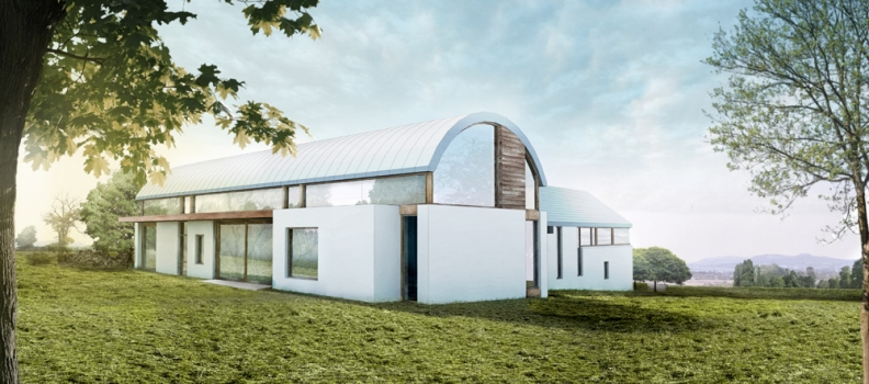 New house design for a site outside Larne