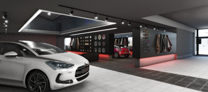 New showroom project