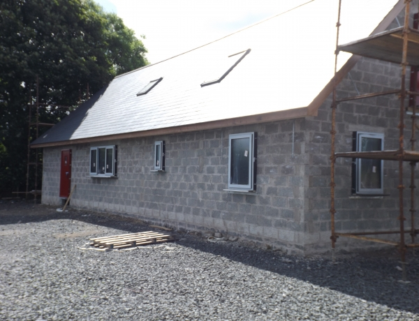 Update on the 'eco cottage'