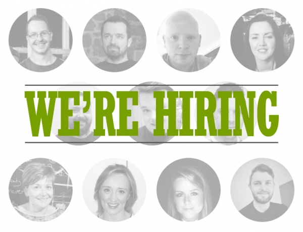 We're looking for a junior designer!