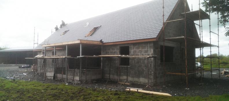 Progress on the 'Eco Cottage'
