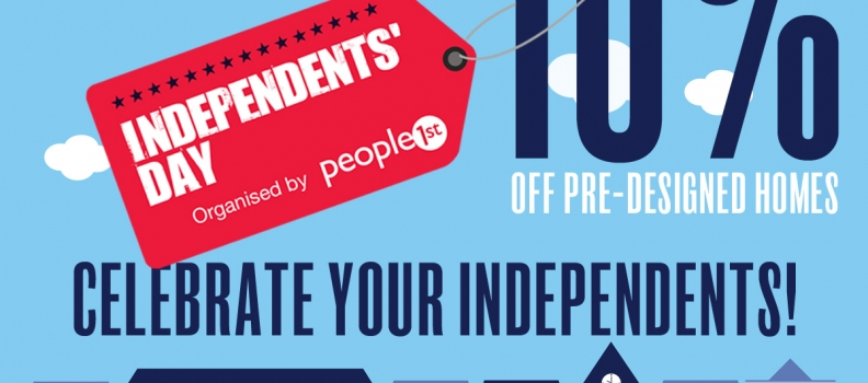 Celebrate Independents Day with 10% off!