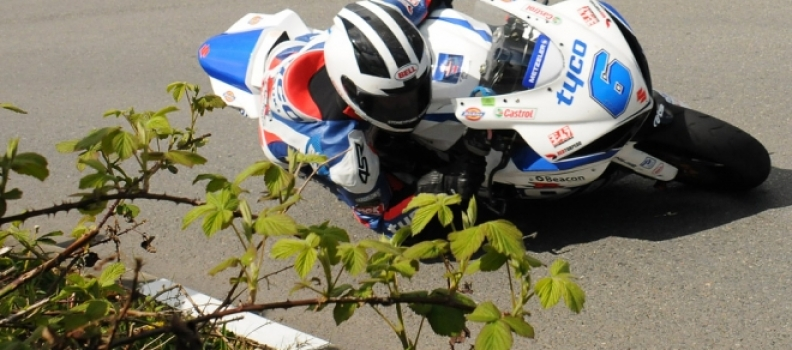 Dunlop denied glorious debut for Tyco Suzuki at Cookstown 100